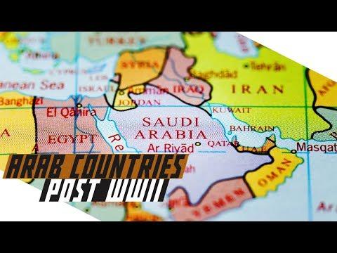 Arab Countries Post-World War II - COLD WAR