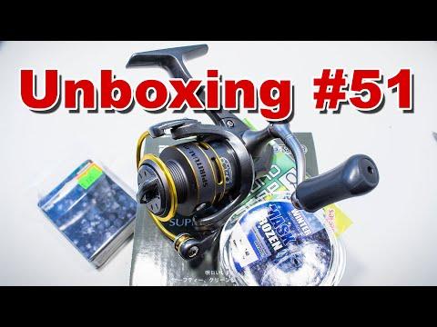 Unboxing катушка Ryobi Spiritual DX500 и кое что ещё от магазина Spinningline
