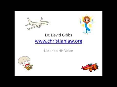 Dr  David Gibbs Listening to His Voice