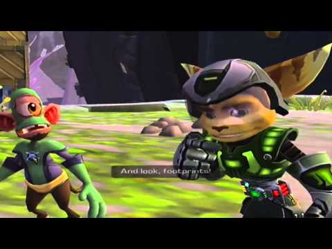 Ratchet And Clank 3: Up Your Arsenal 100% Run (HD Version) Part 22: Crash Site