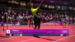 Usain Bolt Breaks 100m Record in 9.48 seconds - London 2012