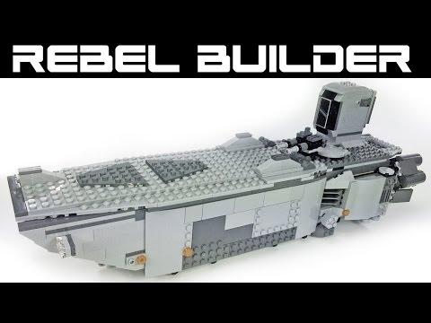 LEGO Star Wars First Order Transporter Modifications! Set 75103