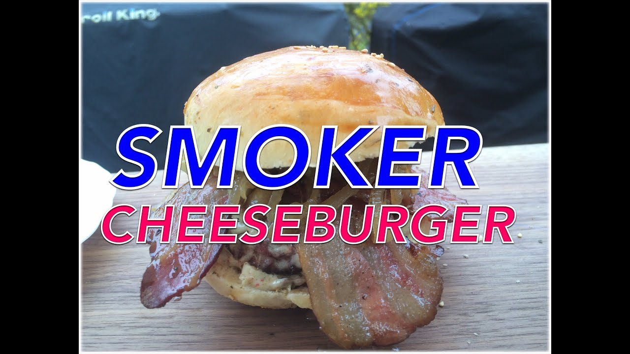 anleitung cheeseburger mit dem smoker grillen klaus grillt youtube. Black Bedroom Furniture Sets. Home Design Ideas