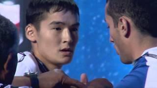 Junior 60kg man left hand 2nd final   Worlds 2013
