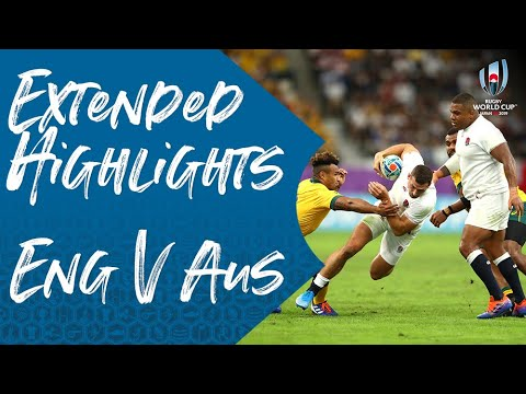 Extended Highlights: England 40-16 Australia - Rugby World Cup 2019