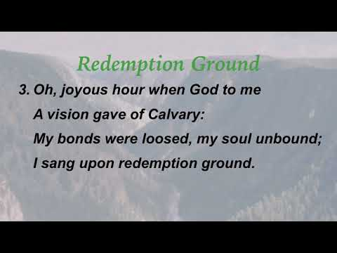 Redemption Ground (Sacred Songs & Solos #20)
