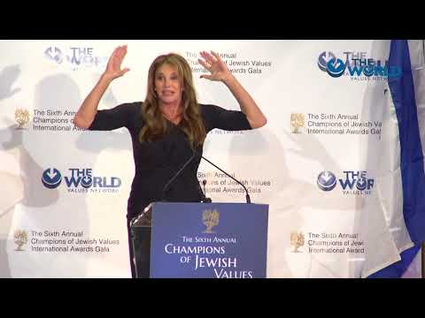Caitlyn Jenner at the 6th Annual Champions of Jewish Values International Awards Gala