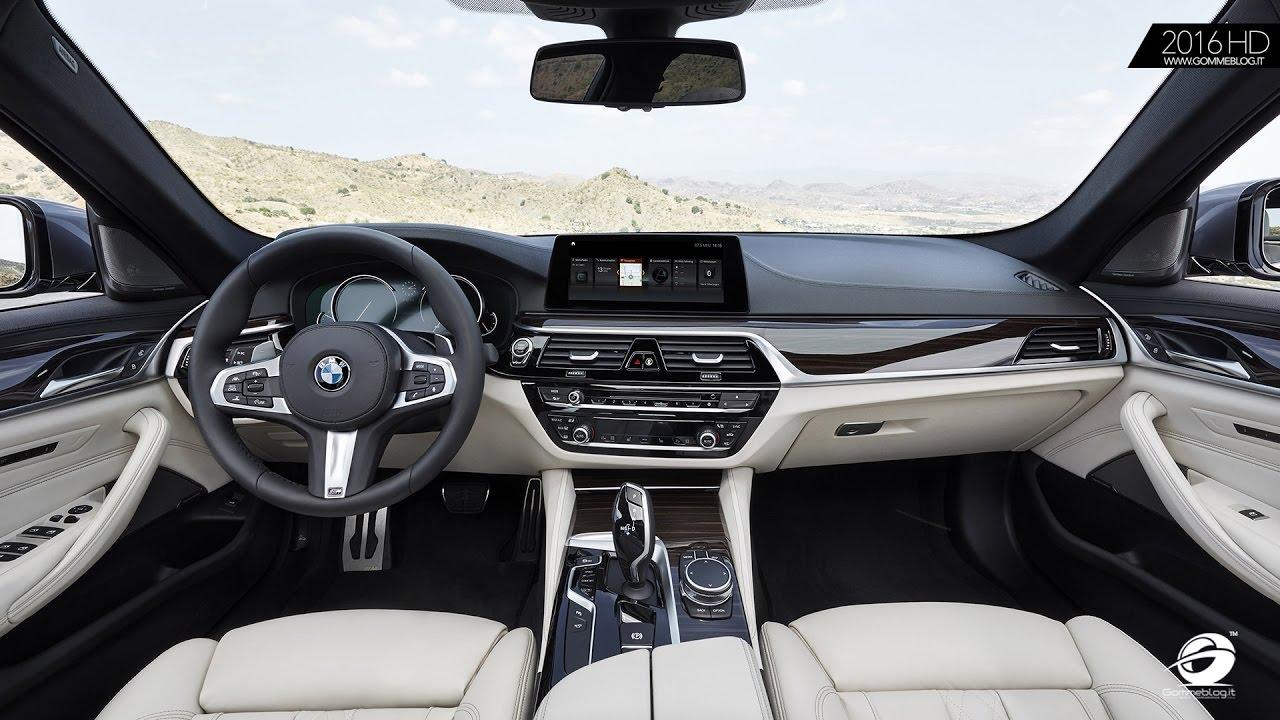 The New Bmw 5 Series Sedan Interior Design Details Youtube