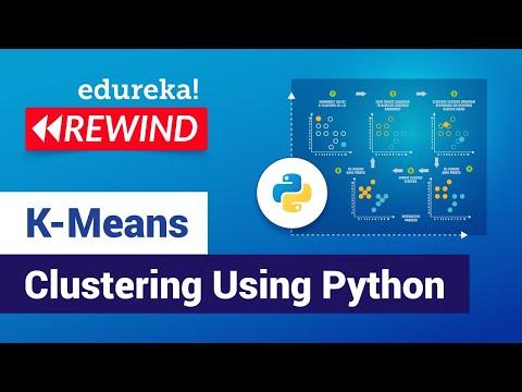 K-Means Clustering Model Using Python | Data Science Algorithms | Edureka | Data Science Rewind -3