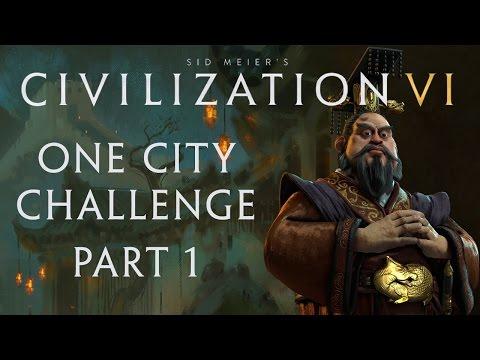 Civilization VI - One City Challenge - Part 1 - Settling Down