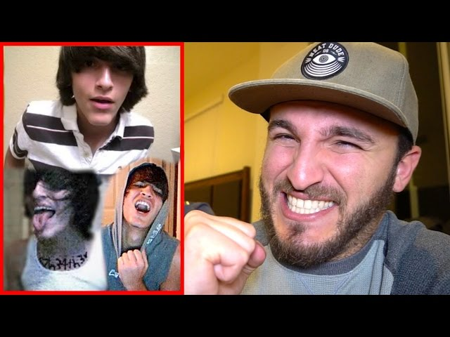 REACTING TO MY OLD CRINGEY PHOTOS!