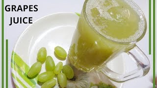 Summer Special Quick Grapes Juice || Juices Recipe By Ayesha's World