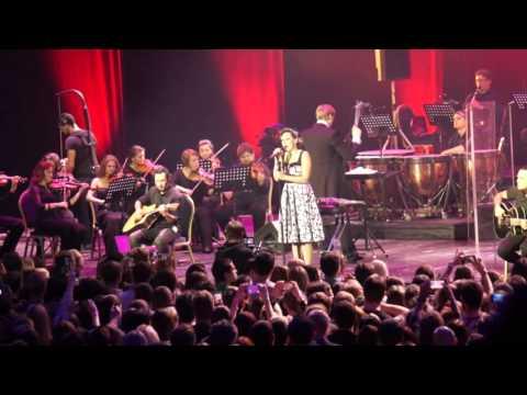 Louna  с симфоническим оркестром Глобалис - Мир и любовь 19.11.2015 Крокус Сити Холл