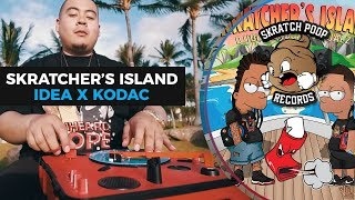 dj idea x kodac visualz present skratchers island 6 portablist scratch video