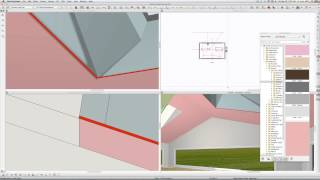 Skylight In Scissor Truss  Chief Architect Videos By Dsh