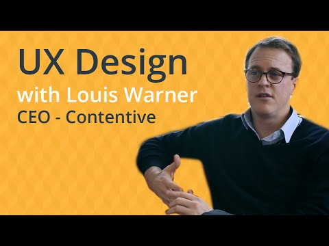 UX Design - Louis Warner (CEO at Contentive)
