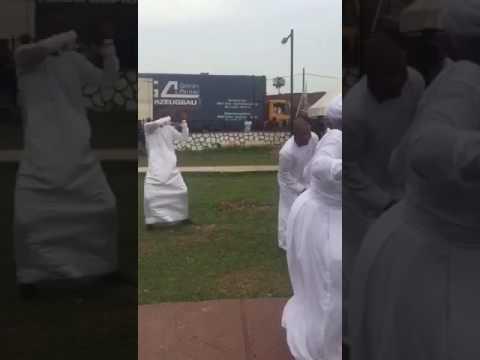 Celestial church of Christ girls killing the dance