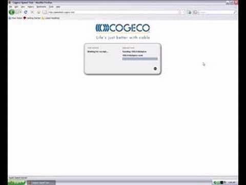 Cogeco Cable Speedtest