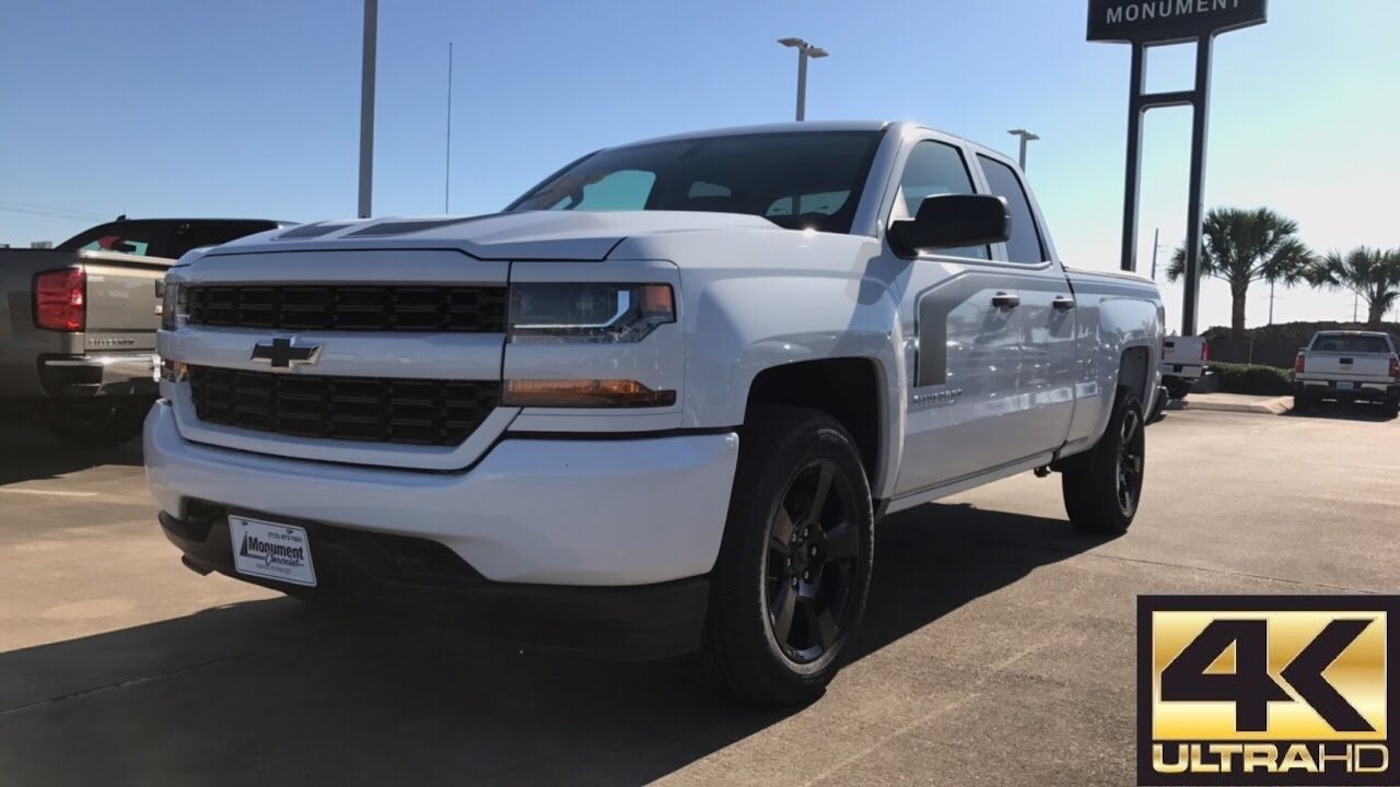 2017 Chevrolet Silverado Custom (5.3L V8) - Review - YouTube
