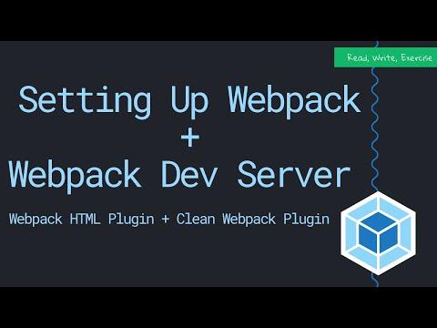 How To Setup Webpack And Webpack Dev Server (2019)