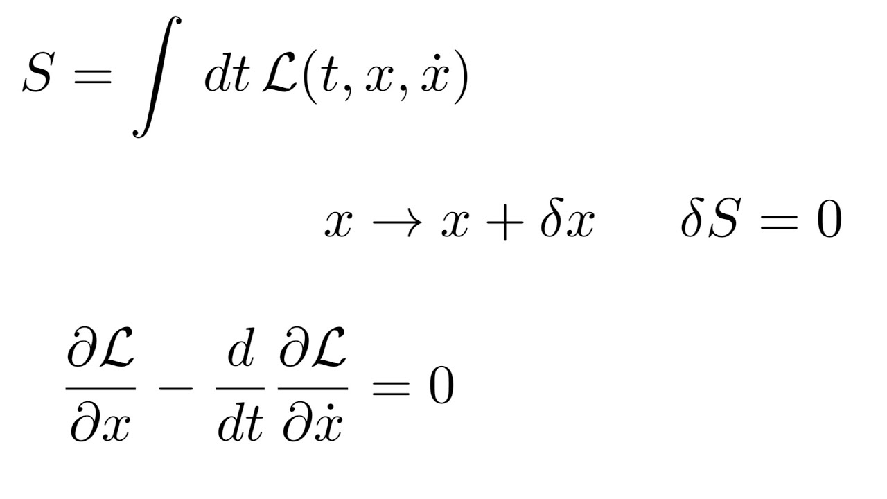 Download Calculus of Variations Intro (Euler-Lagrange Equation Derivation)