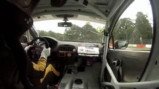 Niels Langeveld Clio cup Benelux circuit Zolder 2x winst ronde 9 & 10
