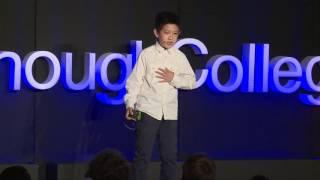 The power of bravery | Joseph Wang | TEDxGoodenoughCollege