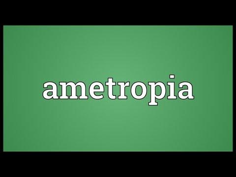 Header of ametropia