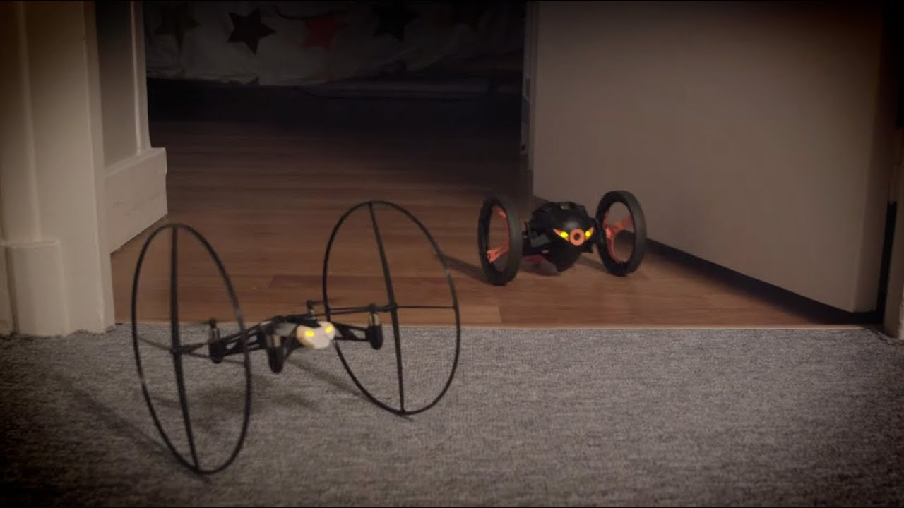 parrot mini drone jumping sumo with Watch on Parrot Mambo Herstellervideo moreover Parrot Minidrones moreover Los Drones likewise Watch furthermore Cargador Parrot Disco 3520410039539 236.