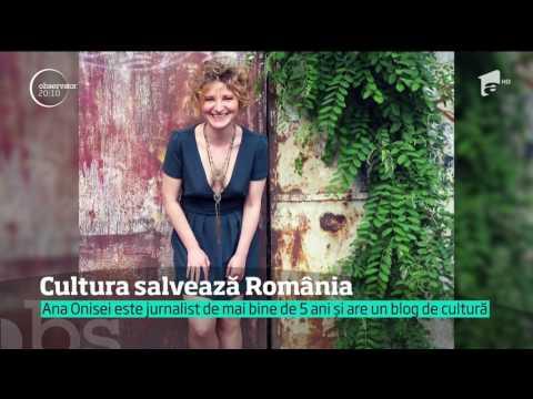 Cultura salvează România