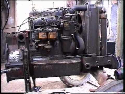 David Brown 880 Selectamatic tractor restoration video  YouTube