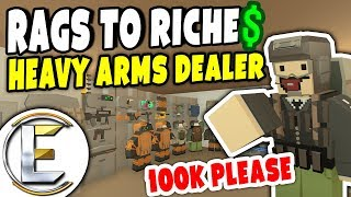 Heavy Arms Dealer | Unturned Roleplay (Rags to Riches #46)