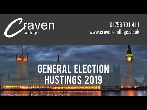 General Election Hustings 2019