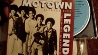 Motown Legends Jackson 5 CD Unboxing