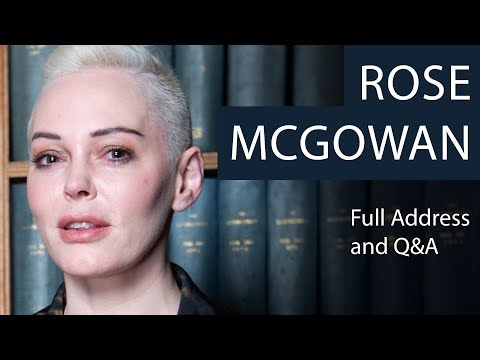 Rose McGowan | Full Address and Q&A | Oxford Union