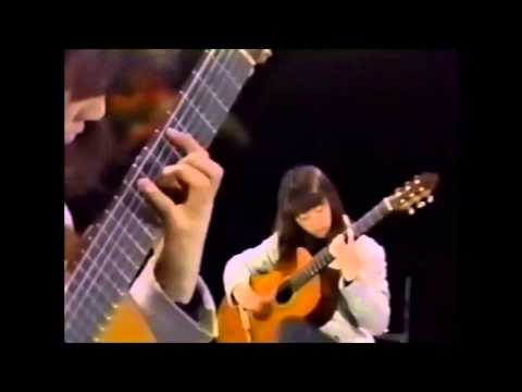 村治佳織 ~ Kaori Muraji ~ Guitar Short Pieces ~ Caprice 24 ~ Debut Single Covers 1994 & Video  1995