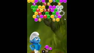 Smurfs Bubble Story Level 203 - NO BOOSTERS [⚠ AGGRESSIVE MONETIZATION ⚠]