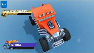 HOT WHEELS RACE OFF ALL LAPS THREE STAR SUPERCHARGED EDITION