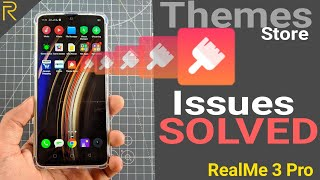 RealMe 3 Pro Theme Store Issue Solved  One Plus 6T theme