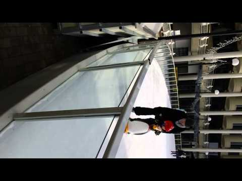 First Ice Skating Event - Georgetown Waterfront (2-3-13).MP4