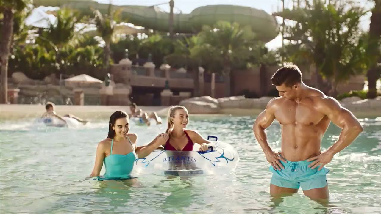 How different are you in water? 💦 Discover Atlantis Aquaventure