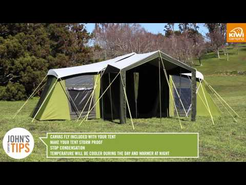 Kiwi Camping Moa Canvas Tent Series - Key Features