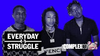 On Monday's (Nov. 4) special episode of #EverydayStruggle from #Com...