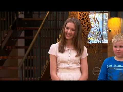 Isabella Bliss on Junior Masterchef Australia season 2 Final
