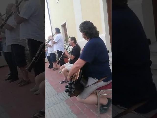 Tárogató koncert a karádi templom előtt - részlet