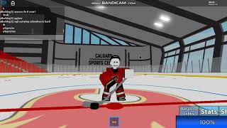 Roblox - Hockey World || Playing with Spooky and Lux
