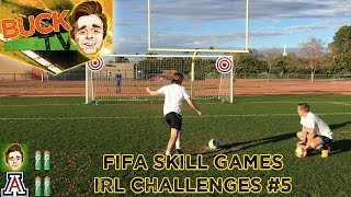 FIFA 17 Skill Games   IRL Challenges #5