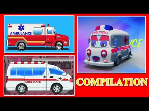 Ambulance |emergency vehicle | cars for children