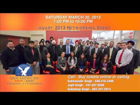 Sikh American Chamber of Commerce Second Annual Gala - Jus Punjabi Commercial