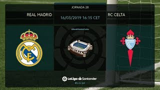 Calentamiento Real Madrid vs RC Celta